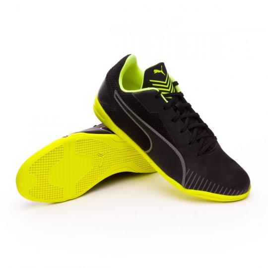 Chaussure de futsal  Puma 365 CT Puma black-Safety yellow-Puma white