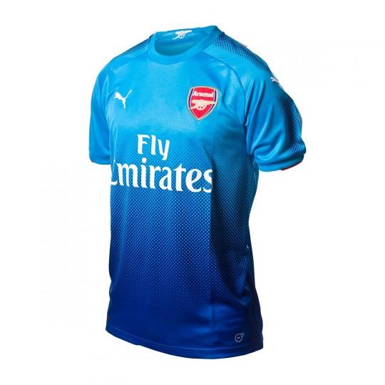 623804087e799 Camiseta Puma Arsenal FC Segunda Equipación 2017-2018 Blue danube-Limoges -  Tienda de fútbol Fútbol Emotion