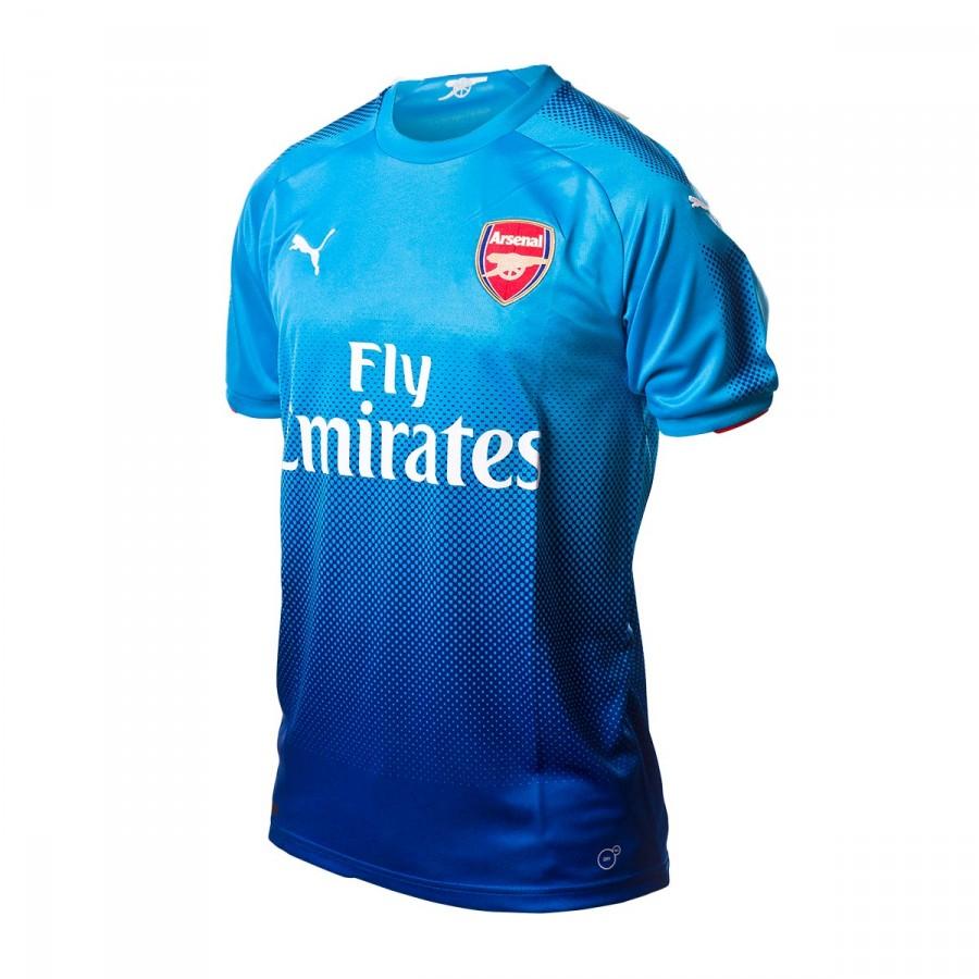 06c561c969 Camiseta Puma Arsenal FC Segunda Equipación 2017-2018 Blue danube-Limoges -  Soloporteros es ahora Fútbol Emotion