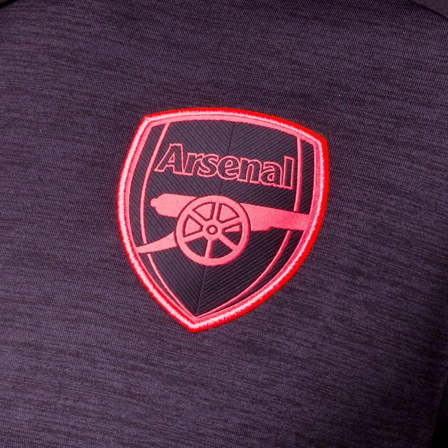 9f9a7d116a29a Camiseta Puma Arsenal FC Tercera Equipación 2017-2018 Dark gray  heather-Puma black - Tienda de fútbol Fútbol Emotion