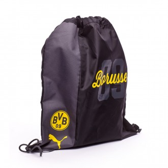 Bolsa  Puma BVB Fanwear Gym Sack Cyber yellow-Puma black