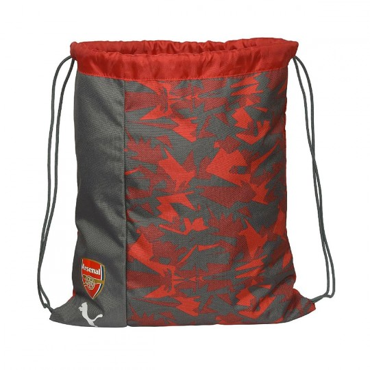 Mochila  Puma Gym Sack Arsenal Camo Fanwear Rio red-High risk red-Bistre