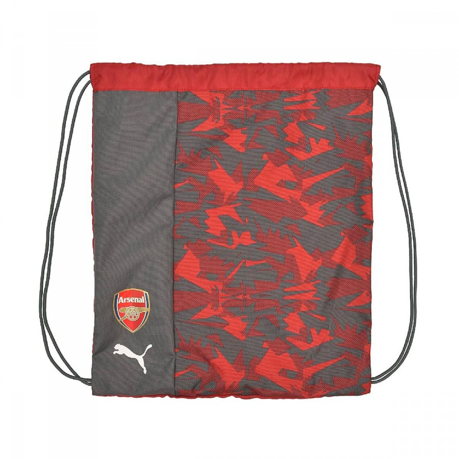 33ccd6914 Bag Puma Gym Sack Arsenal Camo Fanwear Rio red-High risk red-Bistre ...