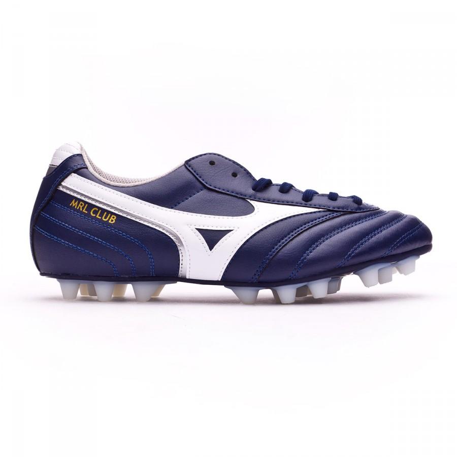 Boot Mizuno MRL Club 24 Peacoat-White-Silver - Soloporteros es ahora Fútbol  Emotion 5714a8187aa