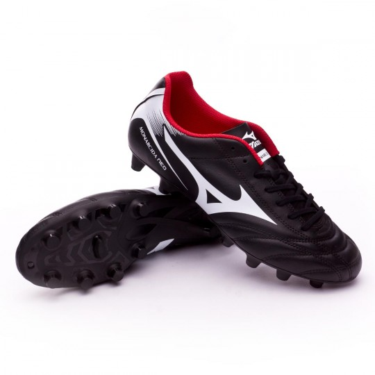 Chuteira  Mizuno Monarcida NEO MD Black-White-Red