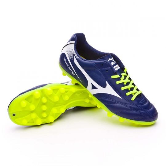 Chaussure  Mizuno Monarcida NEO AG Blue depths-White-Safety yellow