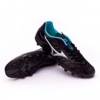 Chaussure  Mizuno Rebula V3 AG Black-Sliver-Blue atoll