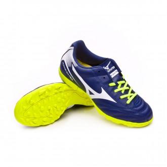 Chaussure  Mizuno Jr Monarcida NEO AS Blue depths-White-Safety yellow