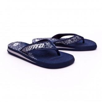 Chanclas  Lotto Tonga Thong VII Blue aviator-Silver metal