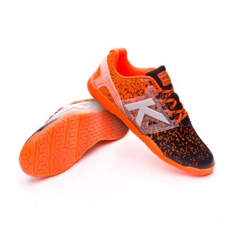 Chaussure de futsal  Kelme Subito Knit Orange fluor