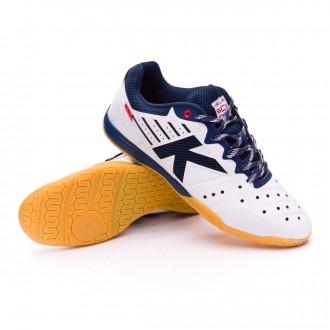 Sapatilha de Futsal  Kelme Feline 5.0 Branco-Indigo