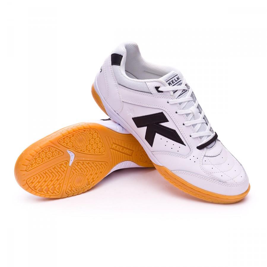 b2294b6ce Futsal Boot Kelme Precision One Skin White-Black - Football store ...
