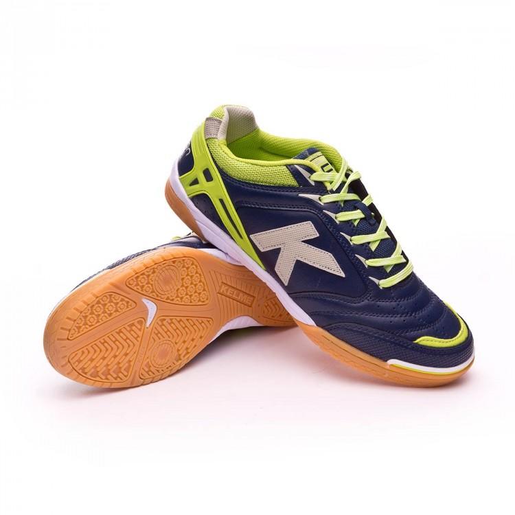 838bc2996a7 Futsal Boot Kelme Precision Forte Indigo - Tienda de fútbol Fútbol ...