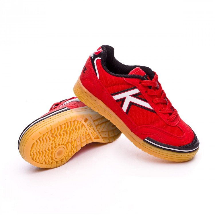 6fdd88fd513 Futsal Boot Kelme Kids Trueno Sala Red - Football store Fútbol Emotion