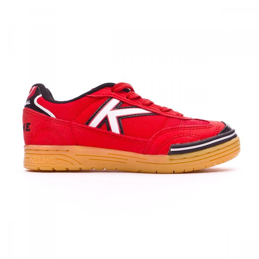 Chaussure de futsal kelme trueno sala enfant rouge for Sala rouge vigo