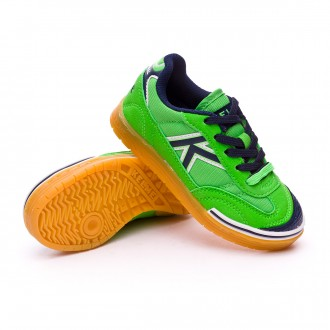 Boot  Kelme Trueno Sala Kids Verde eléctrico
