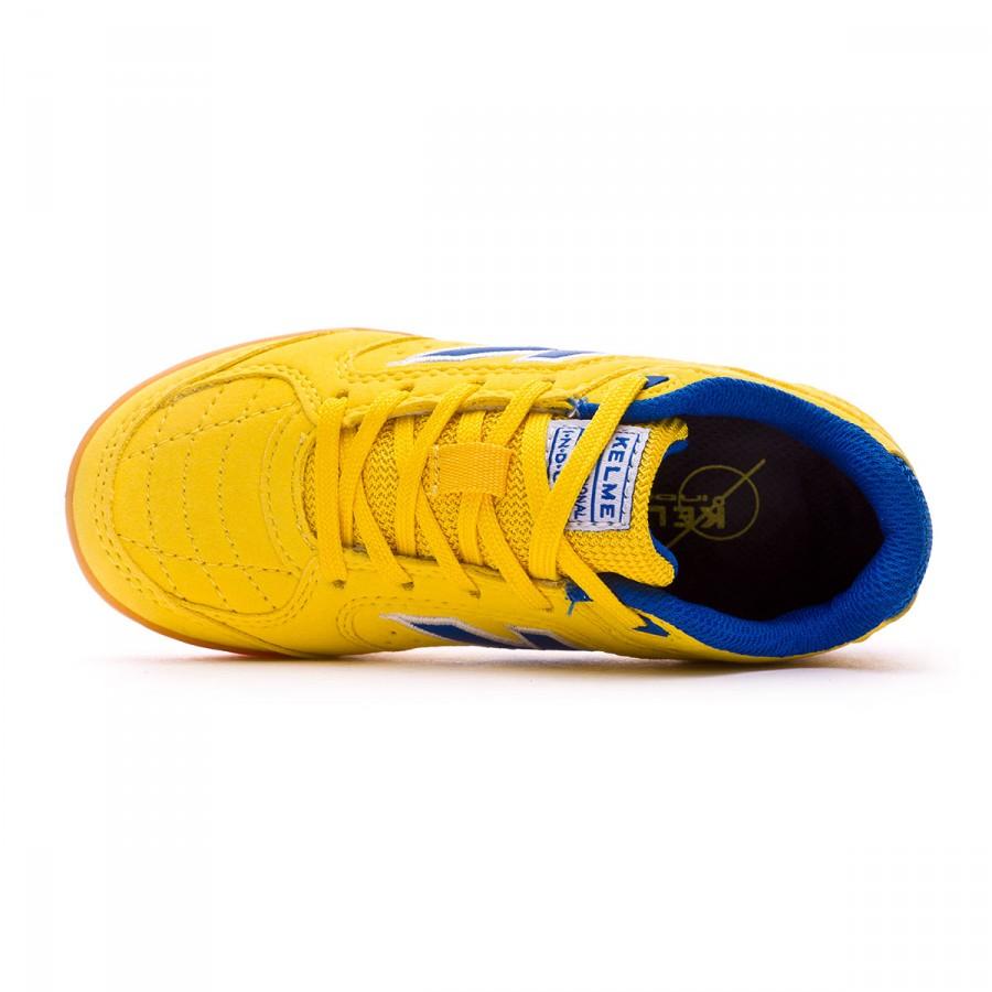 6ea1cb36a4d Futsal Boot Kelme Precision Kids Yellow - Tienda de fútbol Fútbol Emotion