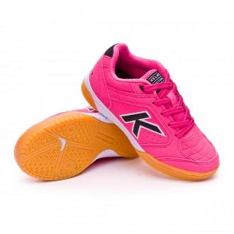Chaussure de futsal  Kelme Jr Precision Fuchsia