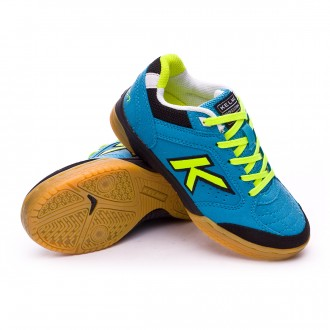 Chaussure de futsal  Kelme Jr Precision Turquoise