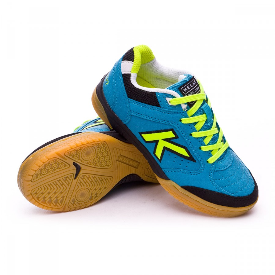 63b94762173 Futsal Boot Kelme Precision Kids Turquoise - Tienda de fútbol Fútbol ...