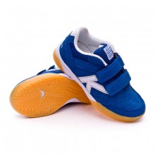 Zapatilla Precision Velcro Niño Royal
