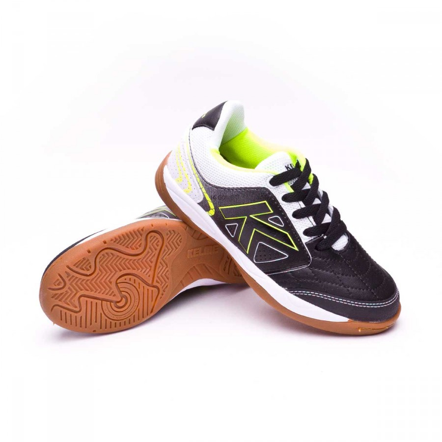 2043516b9d4 Futsal Boot Kelme Kids K-Golea Indoor Black - Tienda de fútbol ...