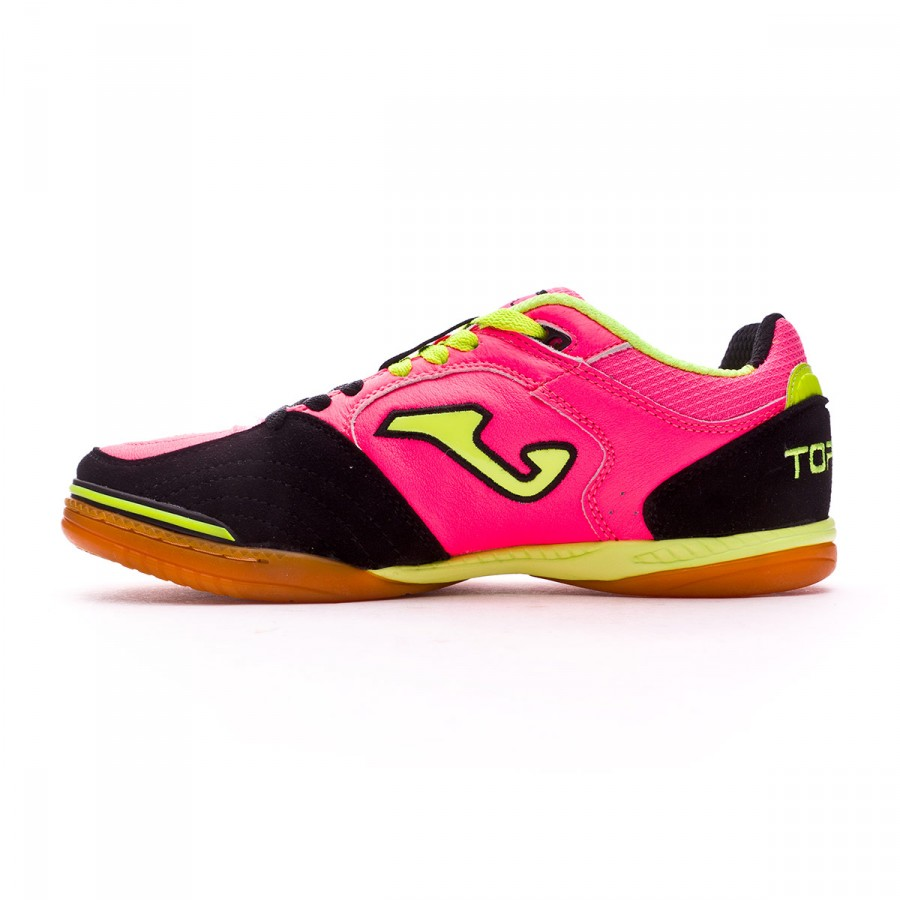 columpio Gran Barrera de Coral Agua con gas  Futsal Boot Joma Top Flex Fuchsia-Black - Football store Fútbol Emotion