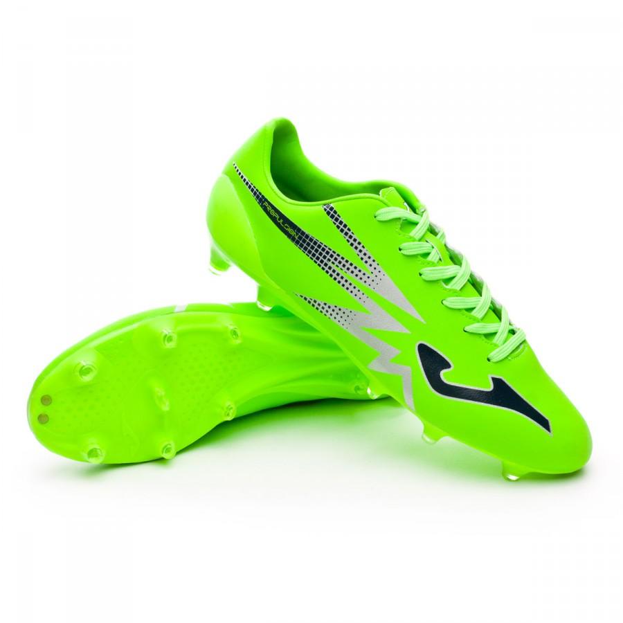 8830d4ca21f6b Zapatos de fútbol Joma Propulsion Lite FG Solar green - Tienda de fútbol  Fútbol Emotion