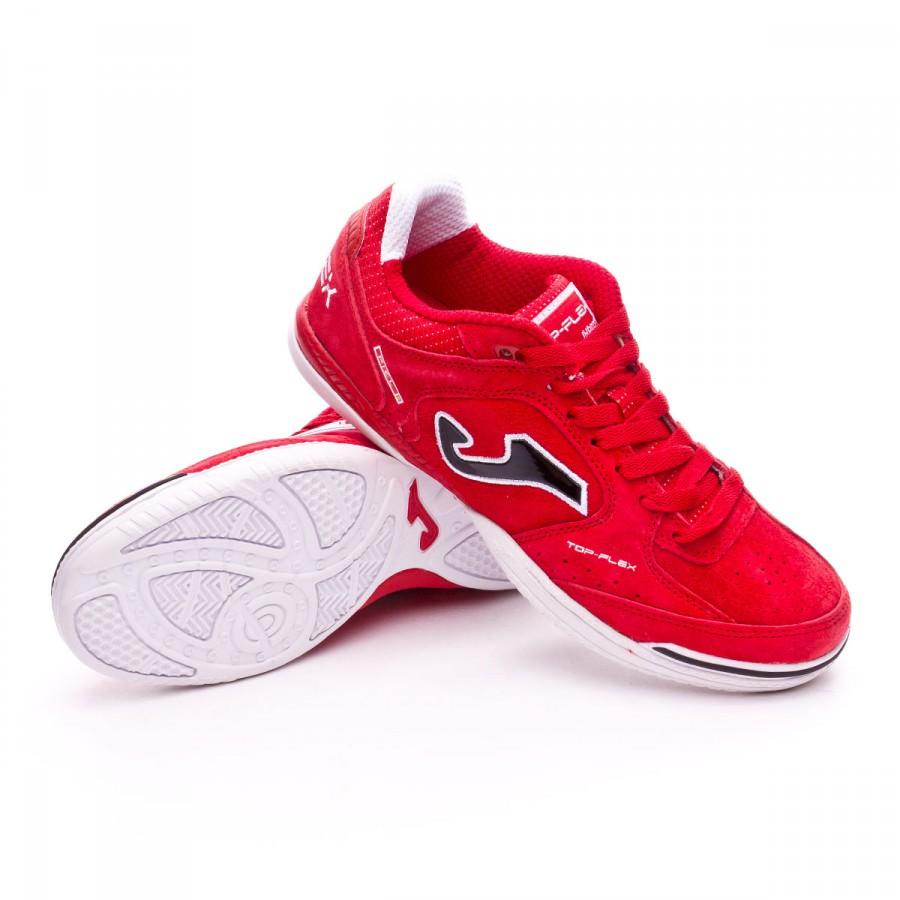 Futsal Boot Joma Top Flex Nobuck Red - Soloporteros es ahora Fútbol ... 1582c7355a319