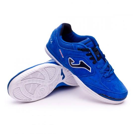 Chaussure de futsal  Joma Top Flex Nobuck Blue