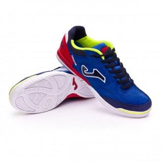 Sapatilha de Futsal  Joma Top Flex Blue-Red