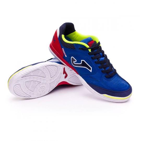 Chaussure de futsal  Joma Top Flex Blue-Red