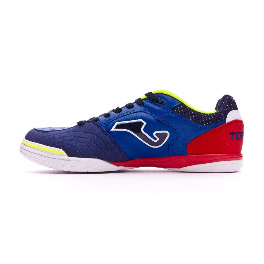 b9360d5e274 Futsal Boot Joma Top Flex Blue-Red - Tienda de fútbol Fútbol Emotion