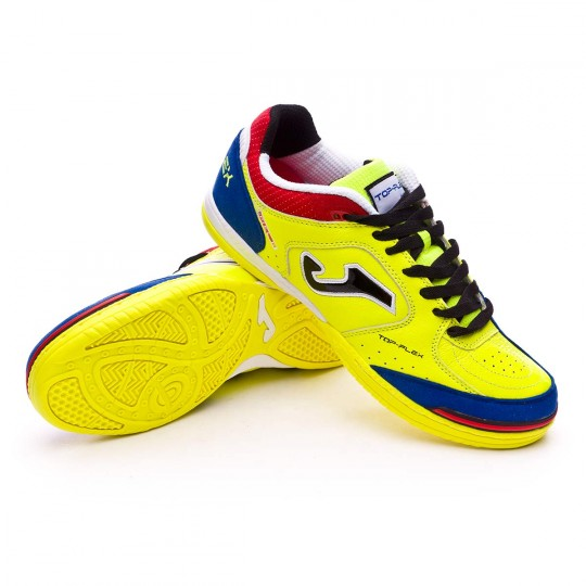 Sapatilha de Futsal  Joma Top Flex Solar yellow