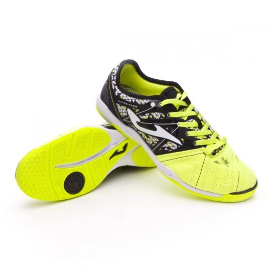 Sapatilha de Futsal  Joma Super Flex Yellow-Black