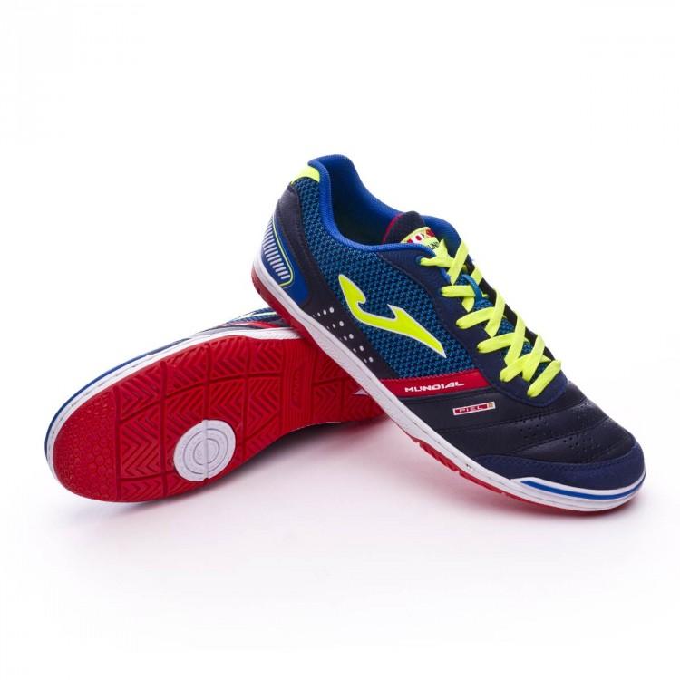 Zapatilla Joma Mundial Blue - Soloporteros es ahora Fútbol Emotion e9431cc13a842