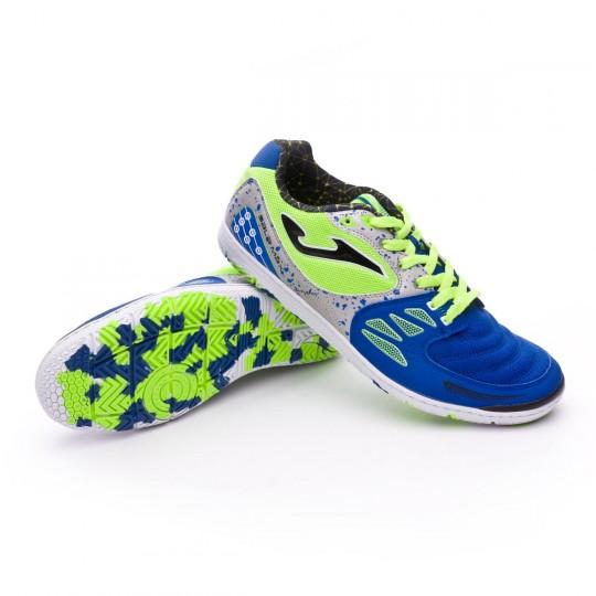 Sapatilha de Futsal  Joma Sala Max Blue-Green