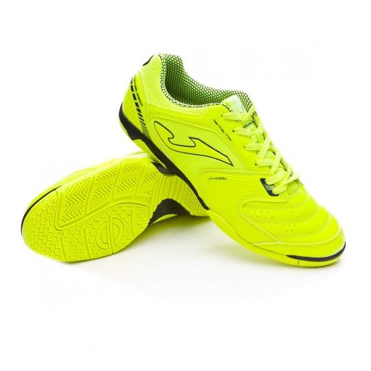 Sapatilha de Futsal  Joma Dribling Solar yellow