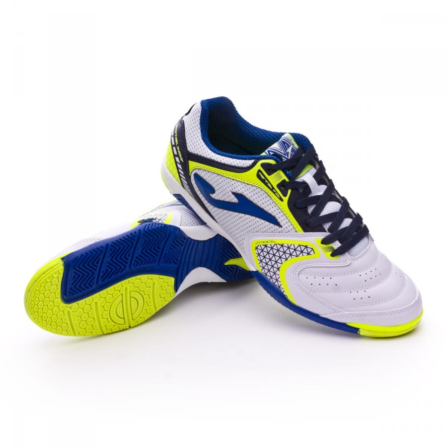 904dc5a24 Futsal Boot Joma Dribling White - Football store Fútbol Emotion