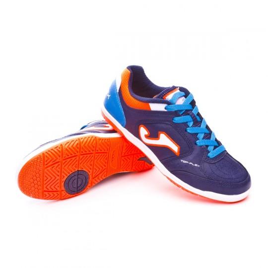 Chaussure de futsal  Joma Jr Top Flex Navy
