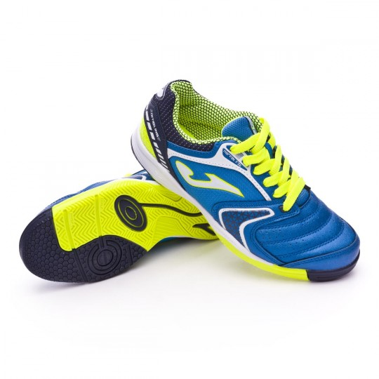 Sapatilha de Futsal  Joma Jr Dribling Blue