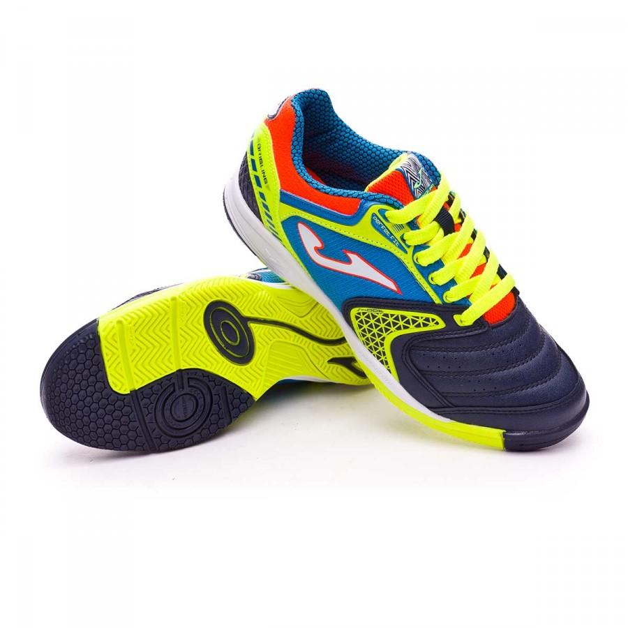d3083f5b4 Futsal Boot Joma Kids Dribling Blue-Navy - Tienda de fútbol Fútbol ...