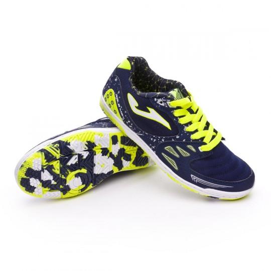Chaussure de futsal  Joma Jr Sala Max Navy