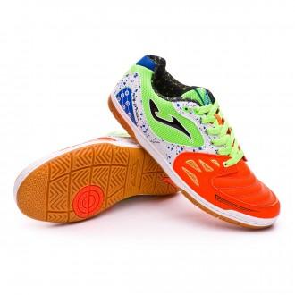 Sapatilha de Futsal  Joma Jr Sala Max Orange