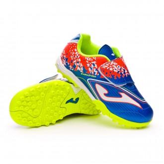Zapatilla  Joma Champion Velcro Turf Niño Blue
