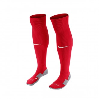 Medias  Nike Matchfit Over-the-Calf University red-gym red-White