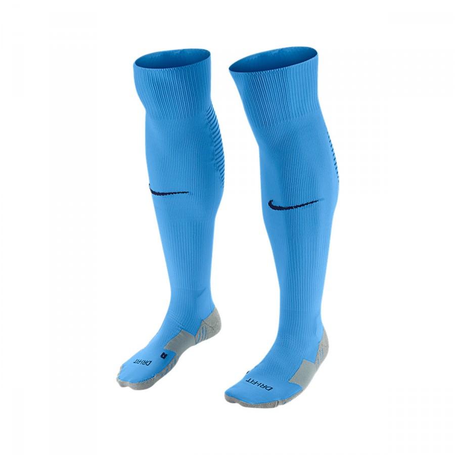 1cc278a37 Nike Matchfit Over-the-Calf Football Socks. University blue-Midnight navy  ...