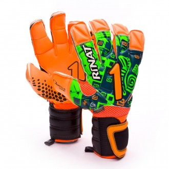 Guante  Rinat Asimetrik Etnik Pro Exclusivo Narange-Verde