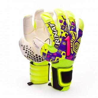 Glove  Rinat Asimetrik Etnik Pro Purple-Amarillo lima