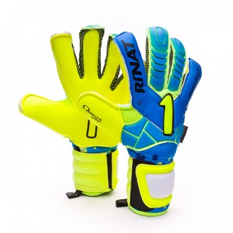 Luvas  Rinat Egotiko NRG Pro Azul-Amarillo lima